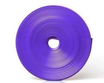 My Envy Shop Purple 8M / Lot New Car Styling Auto Accessories :) Car  Wheel Ring Tire Wheel Protector Fashion and Beauty <3