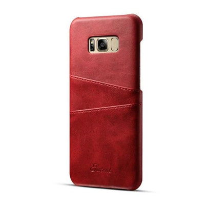 My Envy Shop Red / For Note 8 case Luxury Leather Wallet Case For Samsung