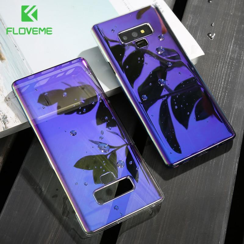 Luxury Business Blue Light Ray Case For Samsung Galaxy