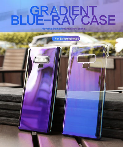 My Envy Shop Samsung Purple / For Samsung Note 9 Luxury Business Blue Light Ray Case For Samsung Galaxy