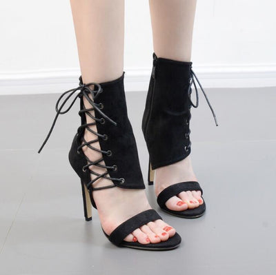 My Envy Shop Sexy Sandals Gladiator Lace up high heels
