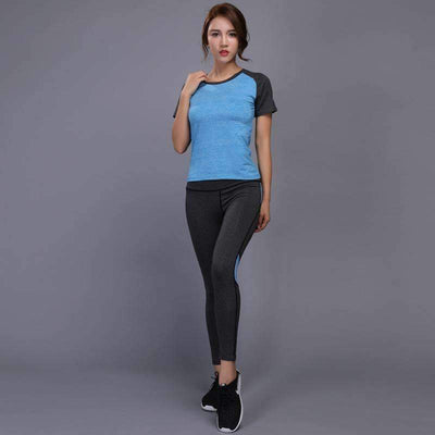 My Envy Shop Shirt+Pants Breathable Gym Workout Clothes