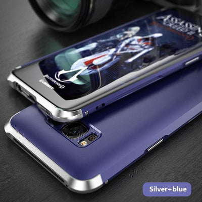 My Envy Shop Silver blue / For Galaxy S8 Plus Luxury Hybrid Slim Cover 360° Full Protection 3 in 1 For Samsung Galaxy S8 S8+