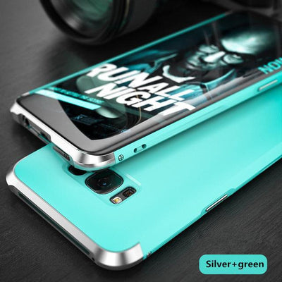 My Envy Shop Silver green / For Galaxy S8 Luxury Hybrid Slim Cover 360° Full Protection 3 in 1 For Samsung Galaxy S8 S8+