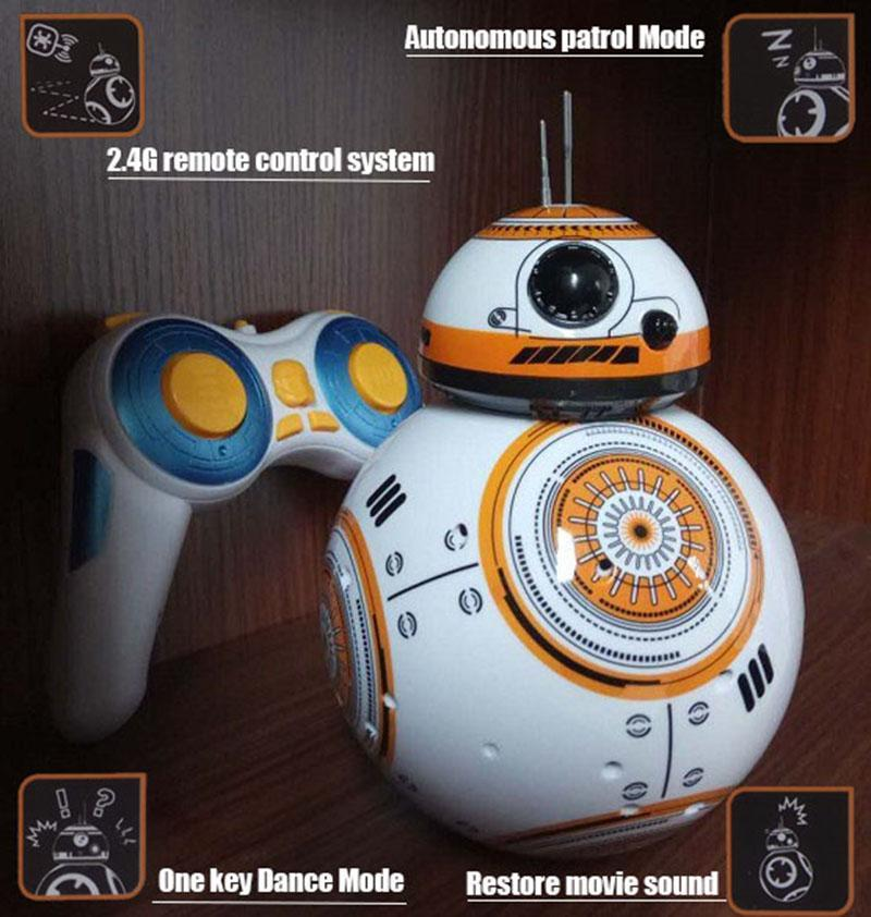 My Envy Shop Star Wars 7 RC BB8 remote control intelligent Action Figure toy