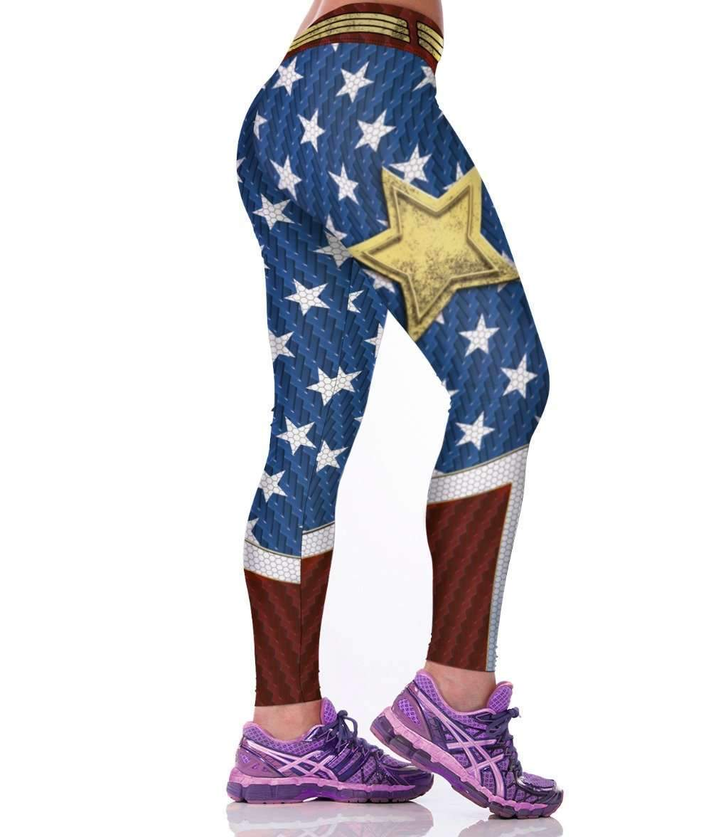 397b1db6ff My Envy Shop Super Hero Series 3D printed Women Leggings Punks Gothic  Fitness Active Pants American