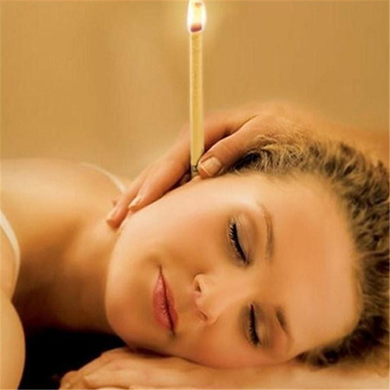 Super Natural Beeswax Ear Candle Therapy 10 pcs
