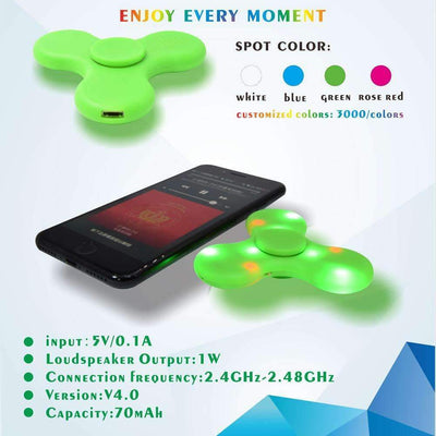 My Envy Shop The World's 1st Wireless Bluetooth LED Fidget Spinner