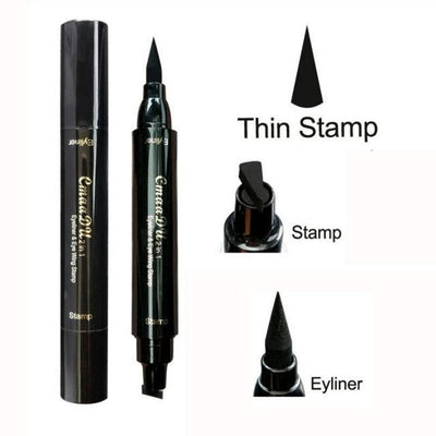 My Envy Shop Thin Stamp 2-In-1 Wing Eyeliner Pen