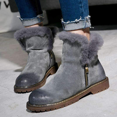 My Envy Shop Winter Fur Boots