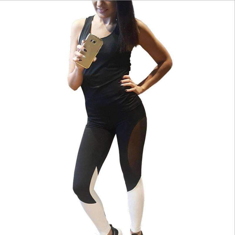 50719abc76 My Envy Shop Woman Sporting Clothes Workout Fitness American Apparel Pants  Leggings High Waist Leggins Elastic