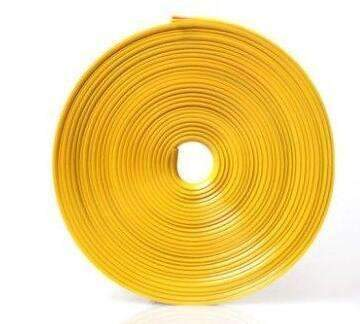 My Envy Shop Yellow 8M / Lot New Car Styling Auto Accessories :) Car  Wheel Ring Tire Wheel Protector Fashion and Beauty <3