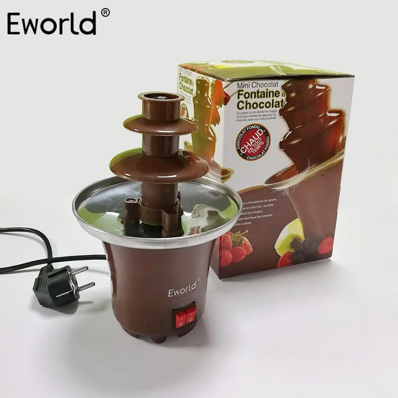 Mini Chocolate Fountain - Baking Kitchen Dessert Gadget