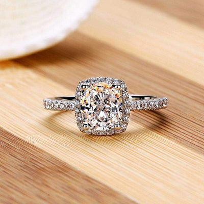 Raed Elegant Beautiful Filled Wedding Ring