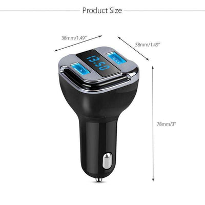 Raed Elegant Smart Dual USB  Charger and Car Locator With LED Display