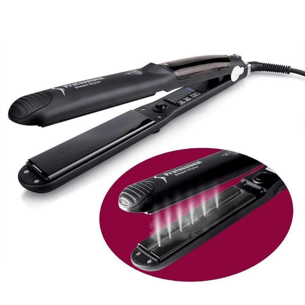 Professional Hair Steam Straightener