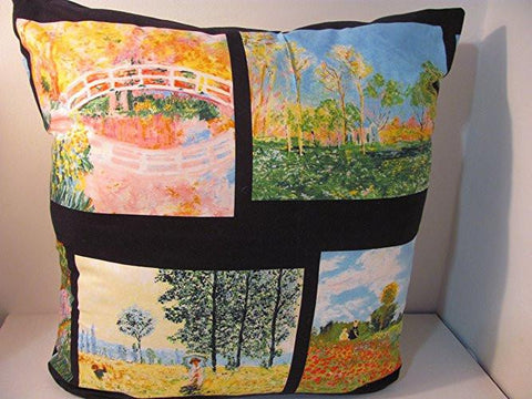 Tribute to Monet: Arts-Inspired Home Decor Pillow