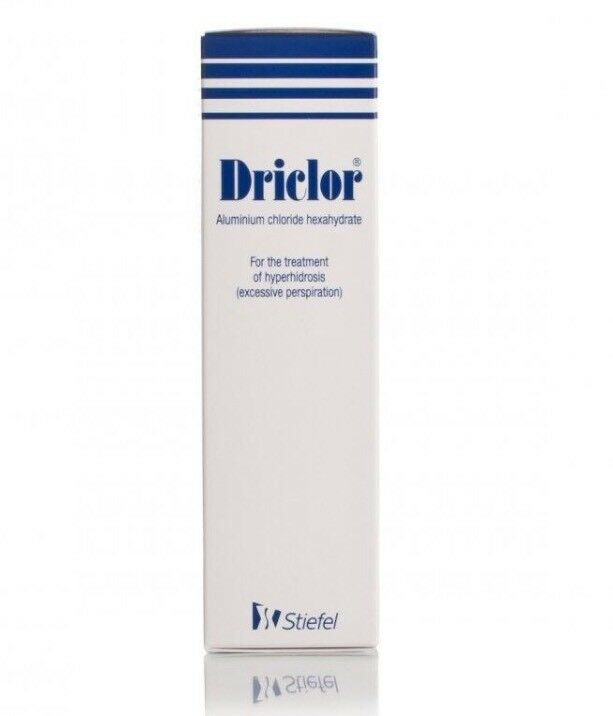 Driclor Antiperspirant Roll On stops sweating - 60ml