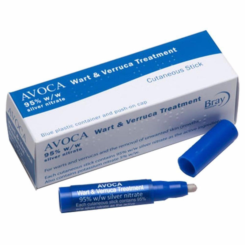 Avoca The Complete Wart & Verruca Treatment Silver nitrate 95%