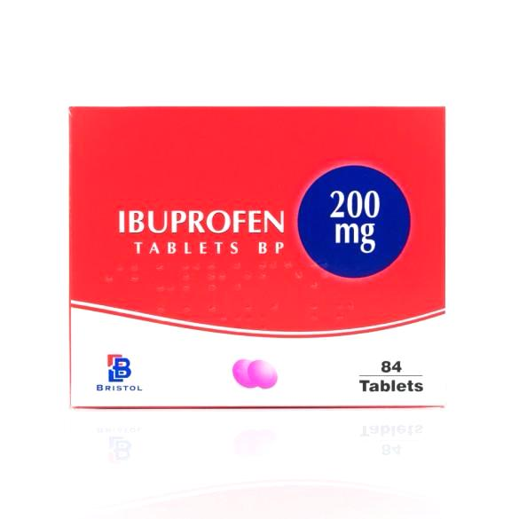 Ibuprofen Tablets 200mg - 5 x 84 Tablets