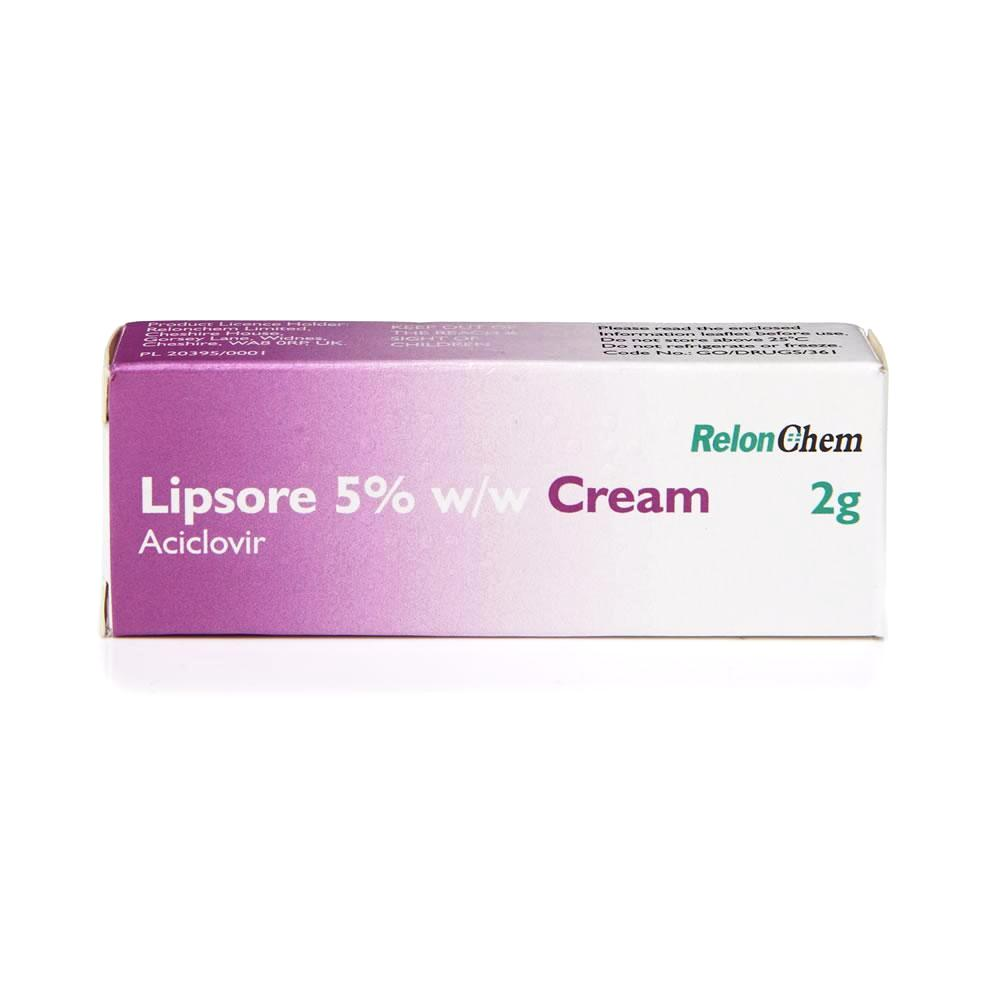 Aciclovir 5% Cold Sore Cream Tube - 2g