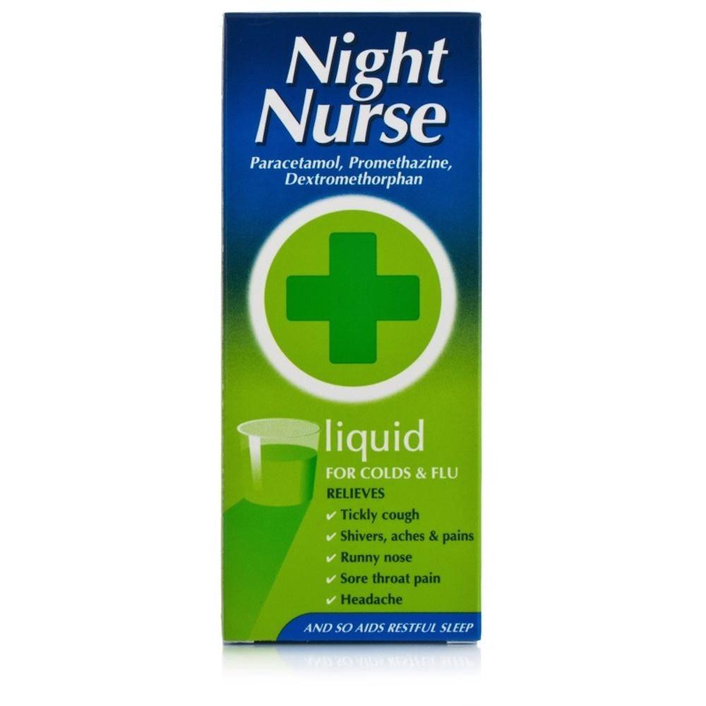 Night Nurse Liquid - 160ml promethazine dextromethorphan