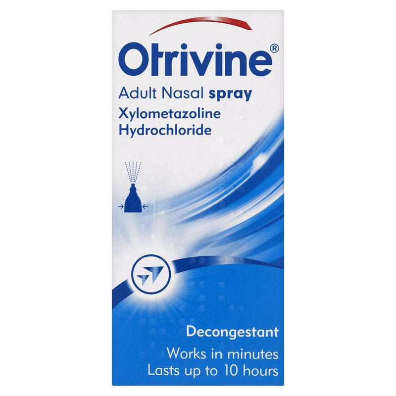 Otrivine Adult Decongestant Nasal Spray - 10ml
