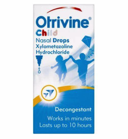 Otrivine Child Nasal Drops - 10ml Decongestant