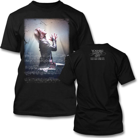 Yoshiki Classical Piano T-shirt