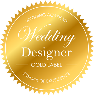 Label Wedding Designer Gold