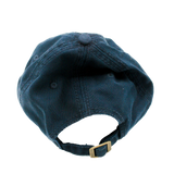 Back of Navy Rosewood Dad Cap