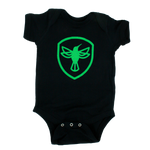 Hummingbird Badge Logo Onesie