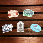 All Austin Parks Foundation stickers