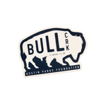 Bull Creek White and Blue sticker