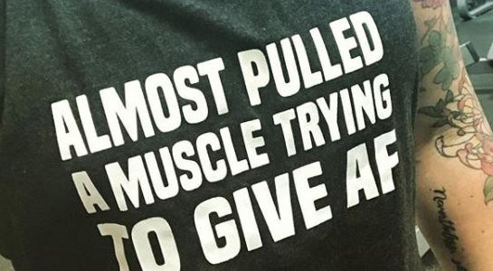 The 12 Best AF Shirts For The Gym To Define Who You Really Are