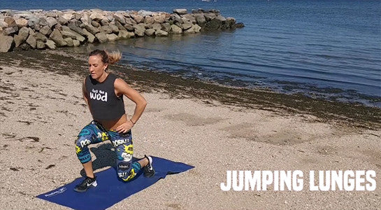 How To Do Jumping Lunges - Workout Exercises