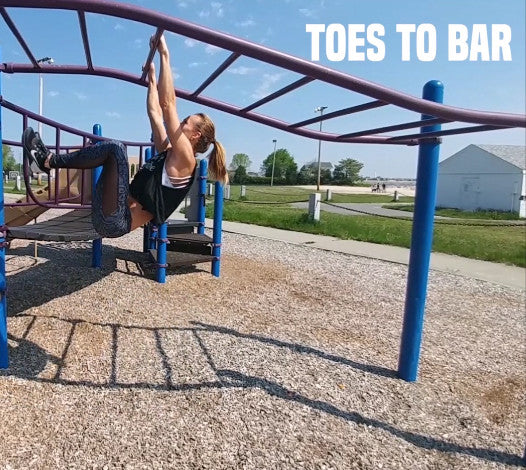 how to do toes to bar