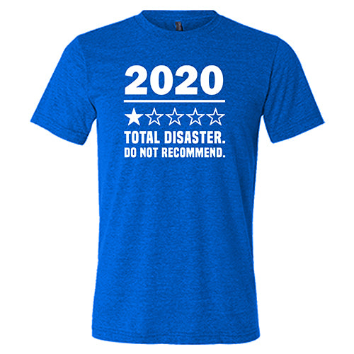 2020 One Star Do Not Recommend Shirt Mens