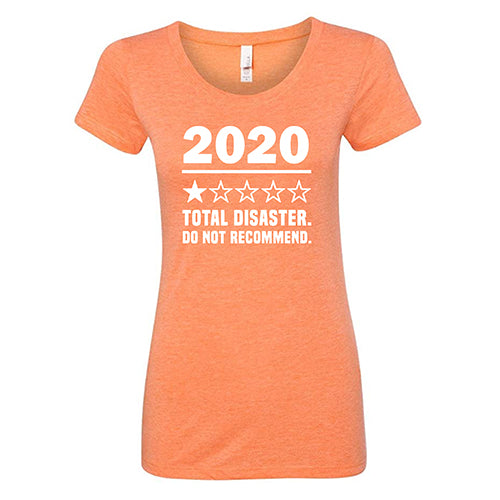 2020 One Star Do Not Recommend Shirt