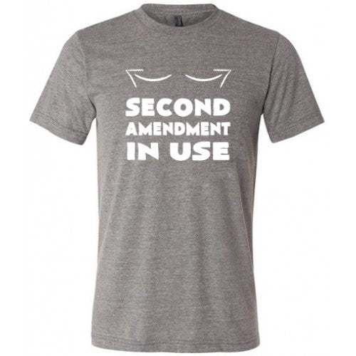 Second Amendment In Use Shirt Mens