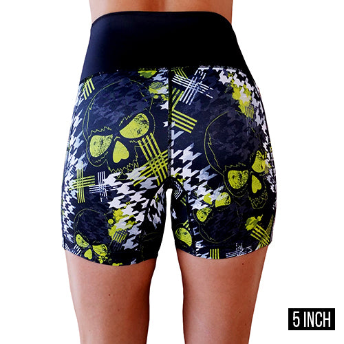 Shorts | Abstract Skull