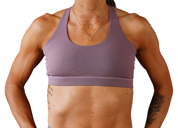 Dusty Rose Sports Bra