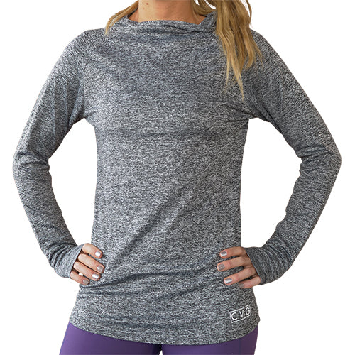 CVG Grey Long Sleeve Warm-Up Shirt