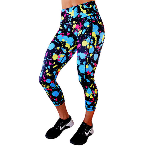 Colorful Skull Leggings