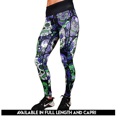 Chaos Skull Leggings
