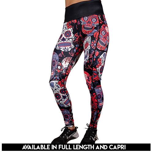 Skulls & Roses Leggings