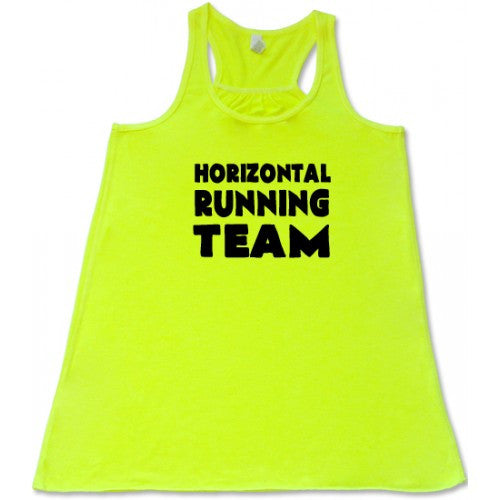 Horizontal Running Team Shirt