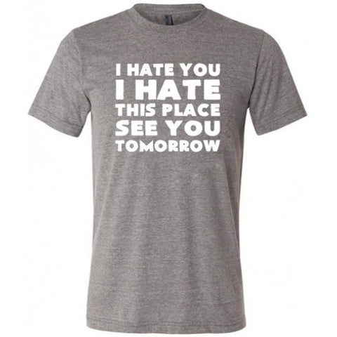 Because Fuck You Thats Why Shirt Mens