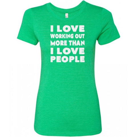 I Love Lifting More Than I Love People Shirt