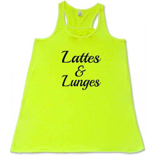 Lattes & Lunges Shirt